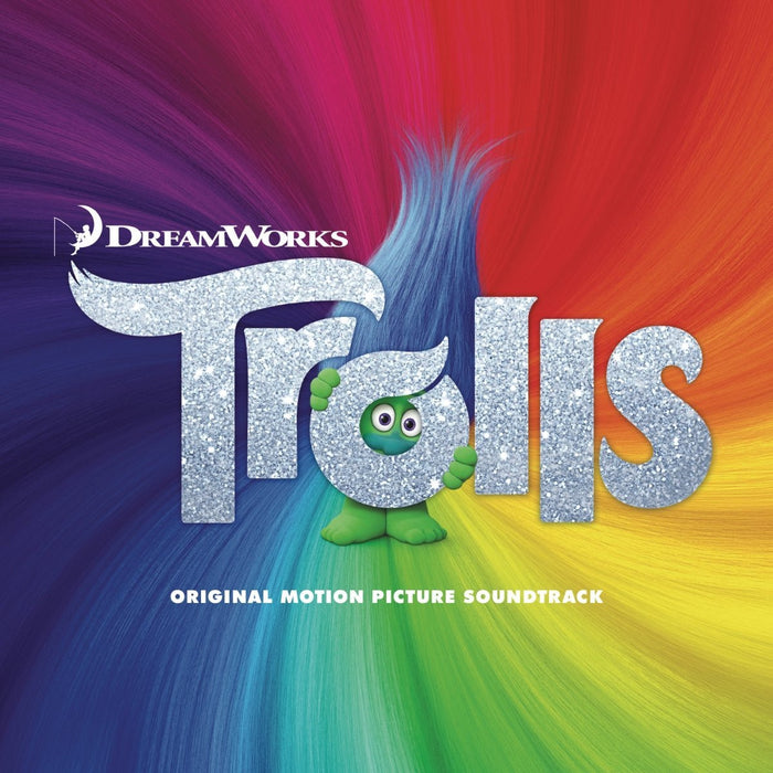 TROLLS Film Soundtrack LP Vinyl NEW Justin Timberlake Can't Stop The Feeling