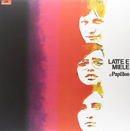 LATTE E MIELE PAPILLON LP VINYL NEW (US) 33RPM LIMITED EDITION