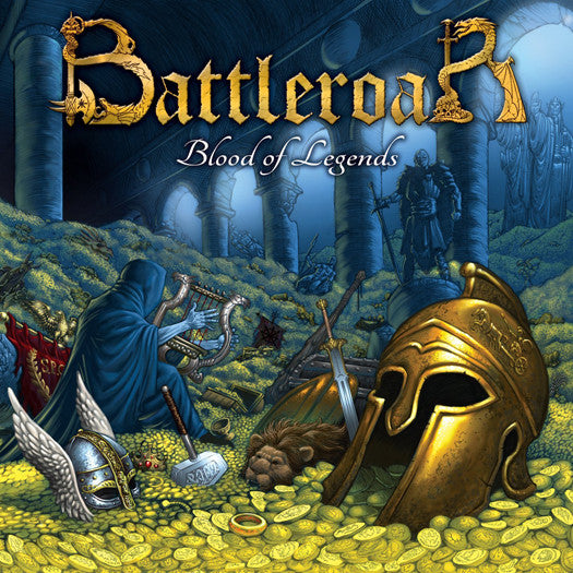 BATTLEROAR BATTLEROAR-BLOOD OF LEGENDS LP VINYL NEW (US) 33RPM