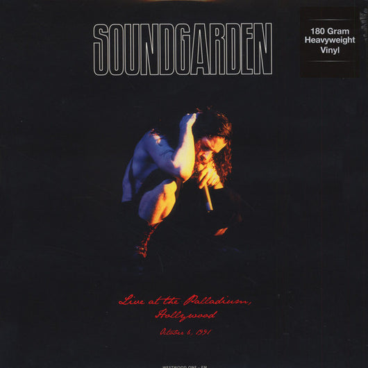SOUNDGARDEN LIVE AT THE PALLADIUM HOLLYWOOD LP Vinyl New