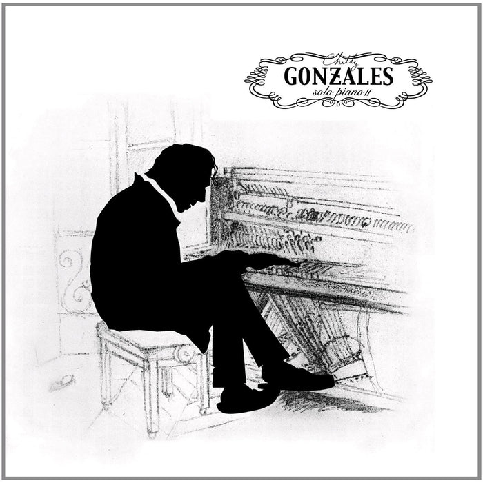 CHILLY GONZALES SOLO PIANO II PIANO LP VINYL NEW 33RPM