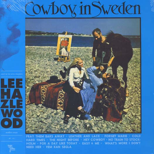 LEE HAZLEWOOD Cowboy In Sweden LP Vinyl NEW