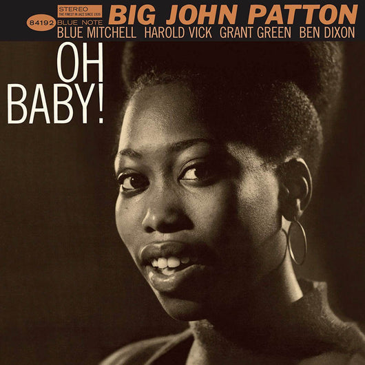Big John Patton Oh Baby Vinyl LP New 2019
