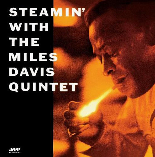 MILES DAVIS STEAMIN LIMITED EDITION LP VINYL NEW (US) 33RPM