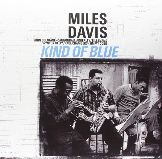 MILES DAVIS KIND OF BLUE LP VINYL NEW (US) 33RPM