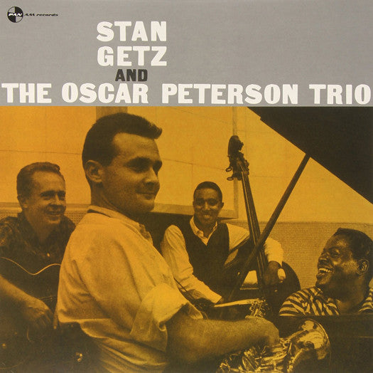 STAN GETZ STAN GETZ & OSCAR PETERSON TRIO LP VINYL NEW (US) 33RPM