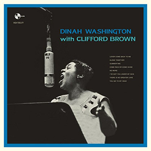DINAH BROWN CLIFFORD WASHINGTON WITH CLIFFORD BROWN LP VINYL NEW (US)