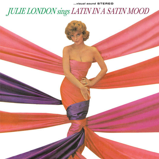 JULIE LONDON SINGS LATIN IN A SATIN MOOD LP VINYL NEW (US) 33RPM
