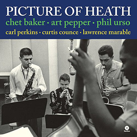 CHET PEPPER ART BAKER PICTURE OF HEATH LP VINYL NEW (US) 33RPM