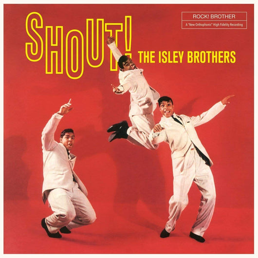 Isley Brothers Shout! Vinyl LP