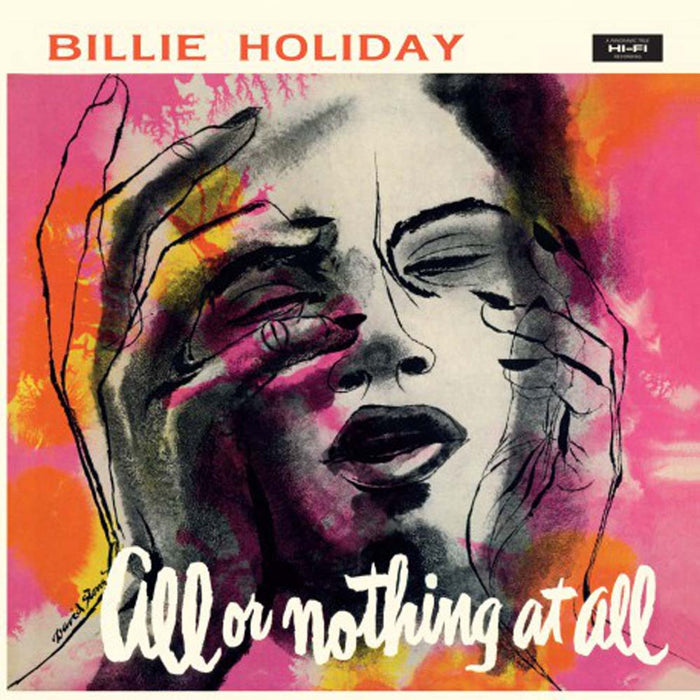 Billie Holiday All Or Nothing At All Yellow Vinyl LP New 2018