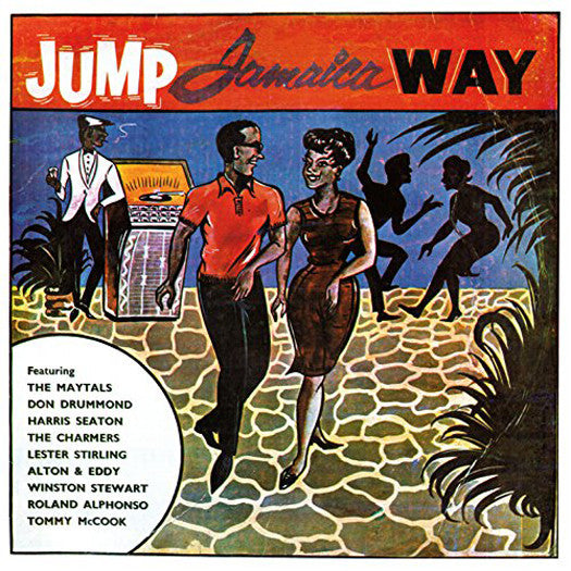 JUMP JAMAICA WAY VARIOUS LP VINYL NEW (US) 33RPM