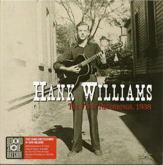 Hank Williams ‎The First Recordings 1938 Ltd Red 7