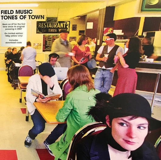 FIELD MUSIC Tones Of Town LP Vinyl NEW RSD 2017 Limited Edition