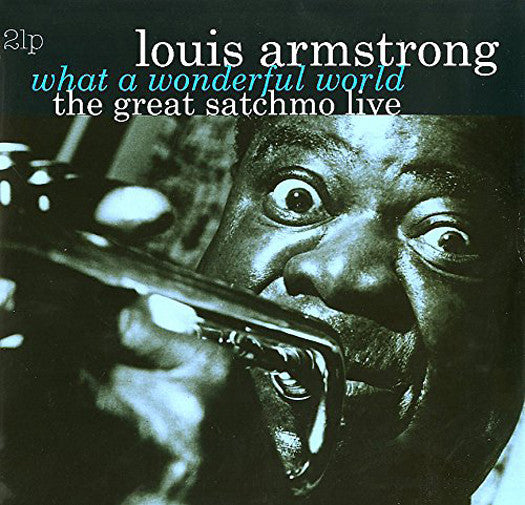 LOUIS ARMSTRONG WHAT WONDERFUL WORLD GREAT SATCHMO LIVE LP VINYL NEW (US)