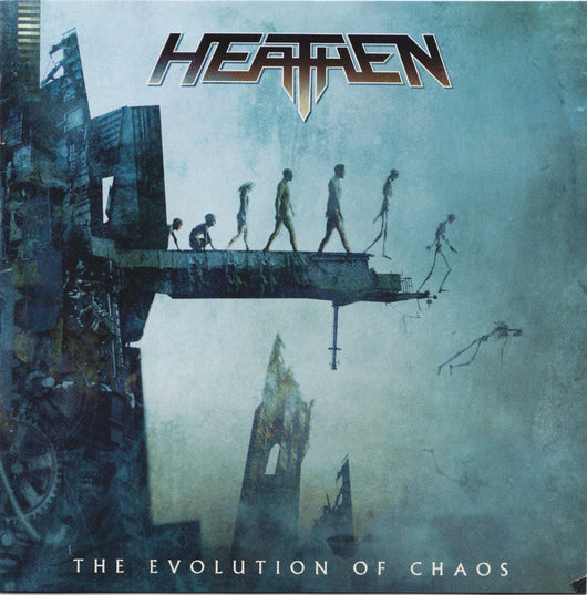 HEATHEN EVOLUTION OF CHAOS LP VINYL NEW 33RPM