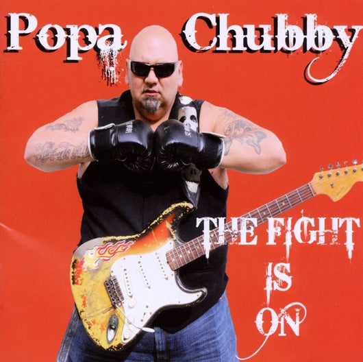 A CHUBBY THE FIGHT IS ON LP VINYL 33RPM NEW