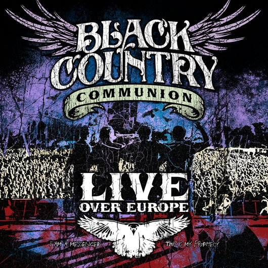 BLACK COUNTRY COMMUNION LIVE OVER EUROPE LP VINYL 33RPM NEW