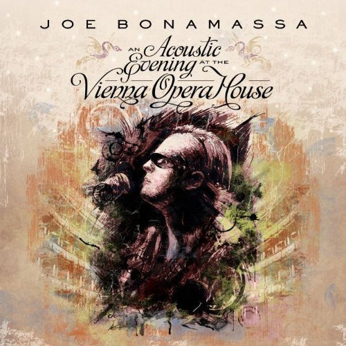 JOE BONAMASSA AN ACOUSTIC EVENING AT THE VIENNA OPERA HOUSE LP VINYL  NEW