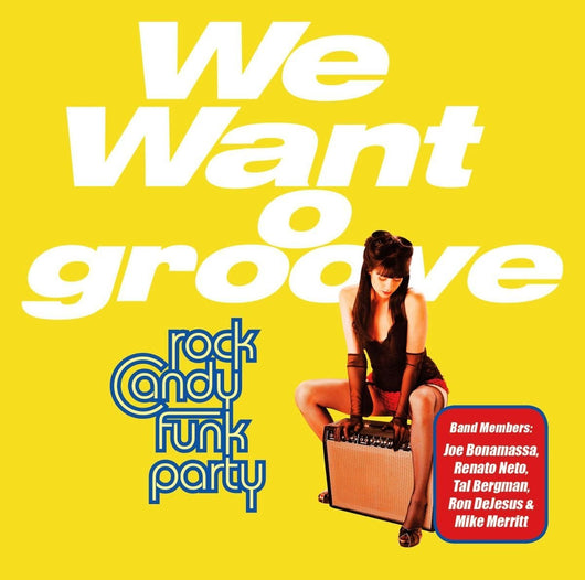 CANDY FUNK PARTY WE WANT GROOVE LP VINYL 33RPM NEW