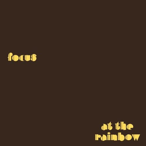 FOCUS AT THE RAINBOW LP VINYL 33RPM NEW