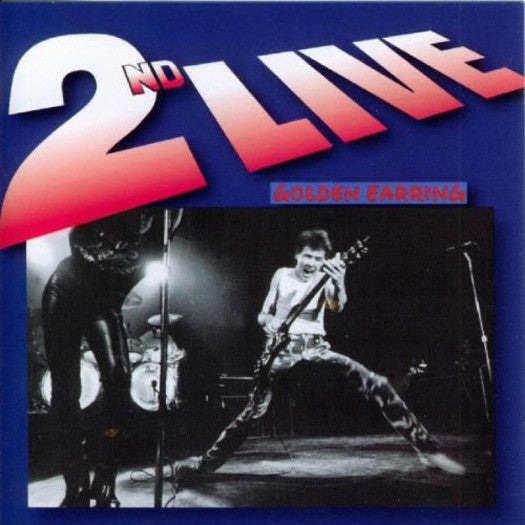 GOLDEN EARRING 2ND LIVE LP VINYL 33RPM NEW