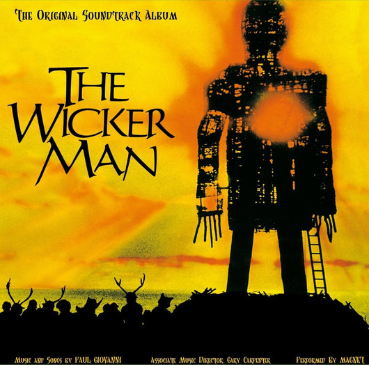 ORIGINAL SOUNDTRACK WICKER MAN LP VINYL 33RPM NEW