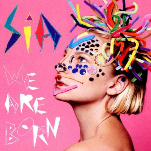 SIA WE ARE BORN 2010 DELUXE 180 GM LP VINYL 33RPM NEW
