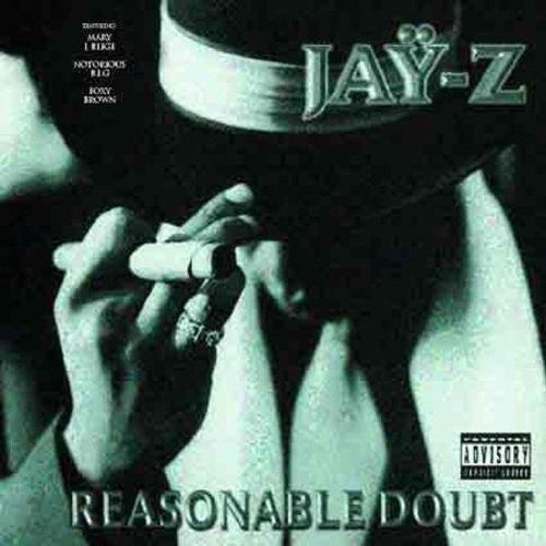 JAY-Z REASONABLE DOUBT LP VINYL 33RPM NEW
