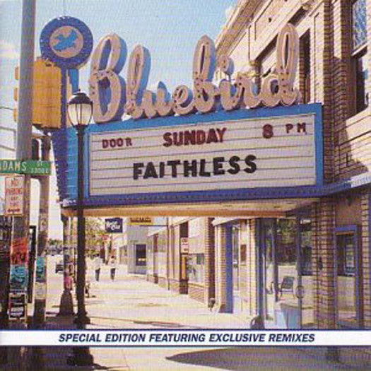 FAITHLESS SUNDAY 8 PM 2010 DELUXE 180 GM 2 LP VINYL 33RPM NEW