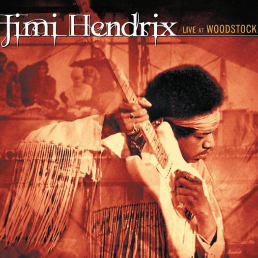 JIMI HENDRIX LIVE AT WOODSTOCK LP VINYL 33RPM NEW
