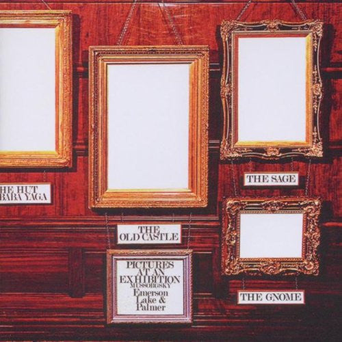 EMERSON LAKE AND PALMER PICTURES AT AN EXHIBITION LP VINYL 33RPM NEW