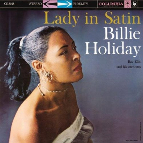 BILLIE HOLIDAY LADY IN SATIN LP VINYL 33RPM NEW