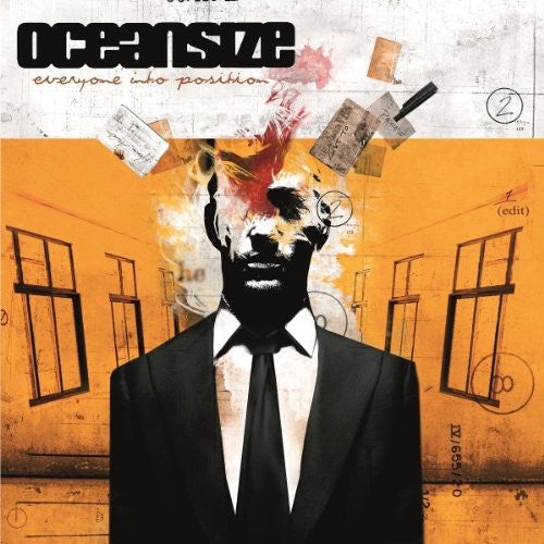 OCEANSIZE EVERYONE INTO POSITION LP VINYL 33RPM NEW