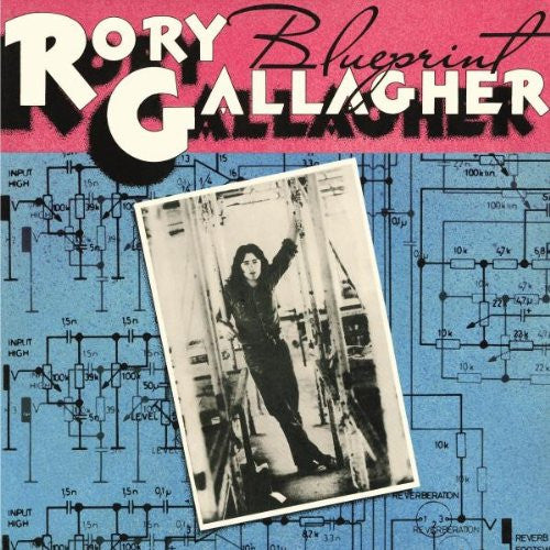 RORY GALLAGHER BLUEPRINT LP VINYL 33RPM NEW