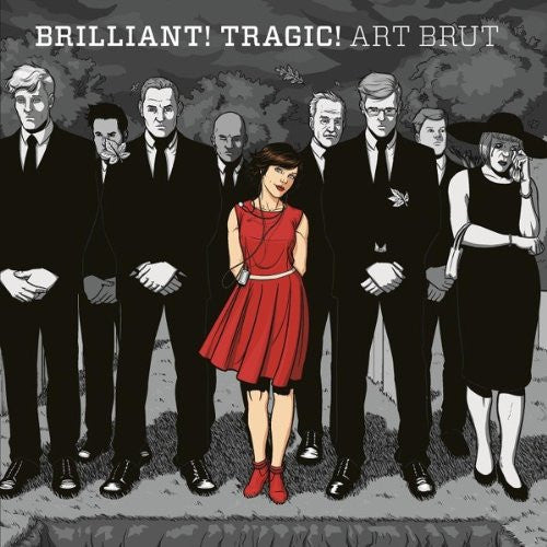 ART BRUT BRILLIANT! TRAGIC! LP VINYL 33RPM NEW