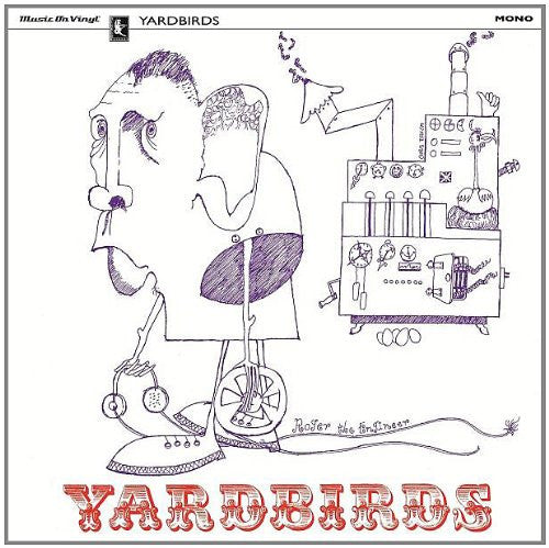 YARDBIRDS ROGERENGINEER =MONO= LP VINYL 33RPM NEW