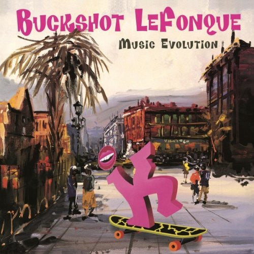 BUCKSHOT LEFONQUE EVOLUTION LP VINYL 33RPM NEW