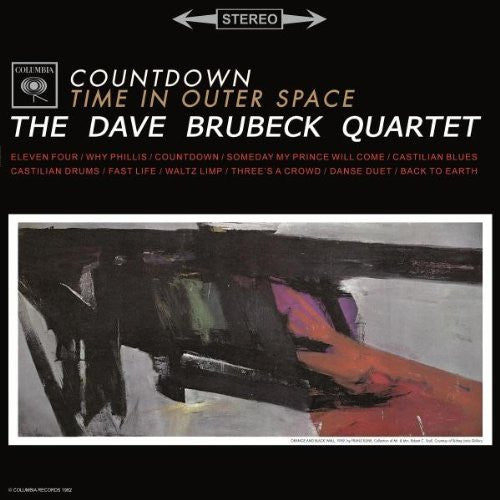 DAVE BRUBECK COUNTDOWNTIME IN OUTER SPACE LP VINYL 33RPM NEW
