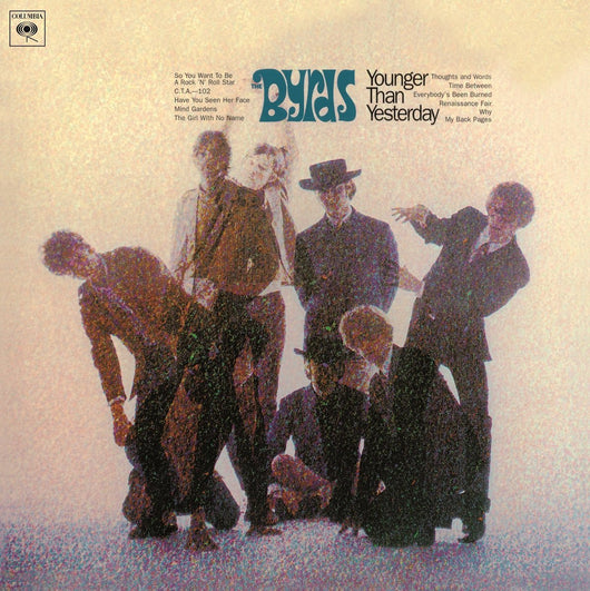 BYRDS YOUNGER THAN YESTERDAY LP VINYL 33RPM NEW