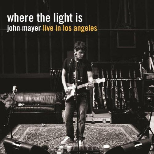 John Mayer Where The Light Is (Live in Los Angeles) LP Vinyl Set