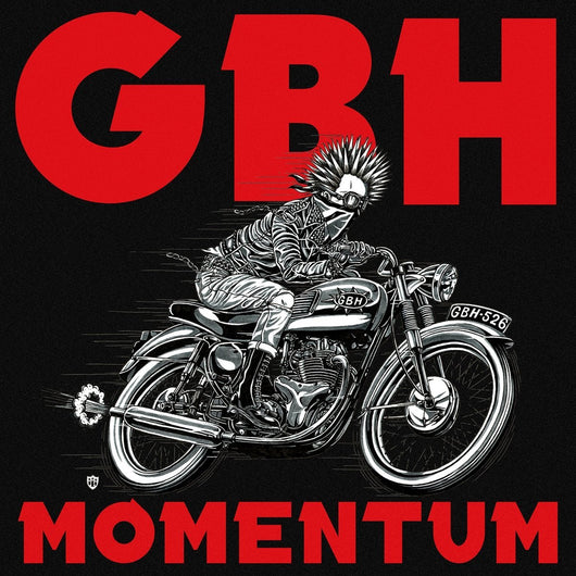 GBH Momentum LP Indies Only Red Vinyl NEW PRE ORDER 17/11/17