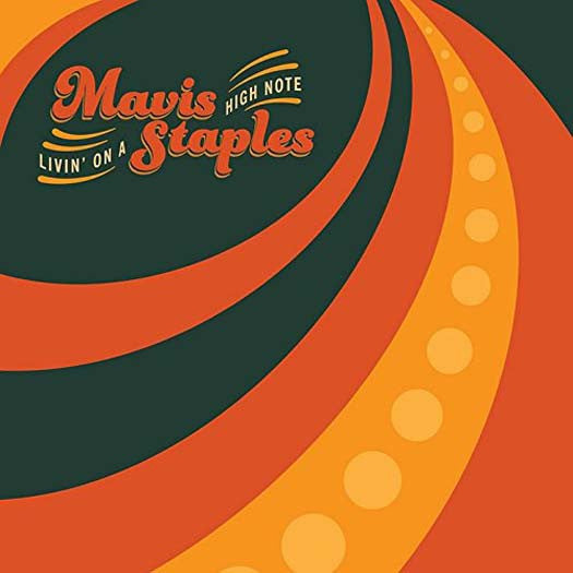 MAVIS STAPLES LIVIN ON A HIGH NOTE LP VINYL NEW 33RPM