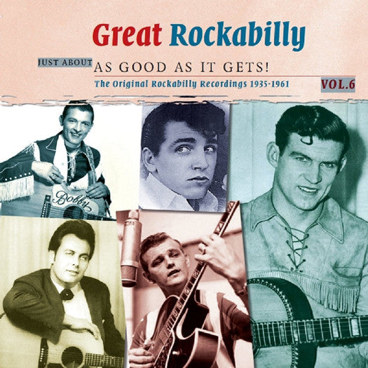 VARIOUS GREAT ROCKABILLY LP VINYL 180GM 33RPM NEW 2012 DOUBLE VINYL