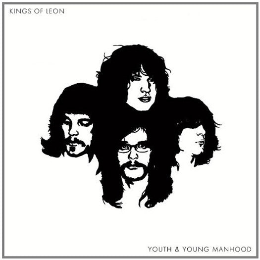 KINGS OF LEON YOUTH AND YOUNG MANHOOD LP VINYL 33RPM NEW