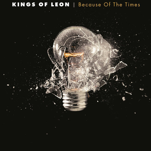 KINGS OF LEON BECAUSE OF THE TIMES LP VINYL 33RPM NEW