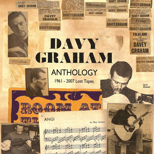 DAVY GRAHAM ANTHOLOGY 1961 TO 2007 LOST TAPES LP VINYL 33RPM NEW