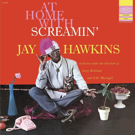 SCREAMIN JAY HAWKINS AT HOME WITH SCREAMIN JAY HAWKINS LP VINYL 33RPM NEW