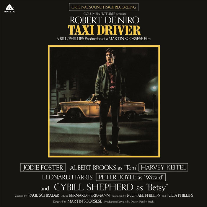 ORIGINAL SOUNDTRACK TAXI DRIVER LP VINYL 33RPM NEW