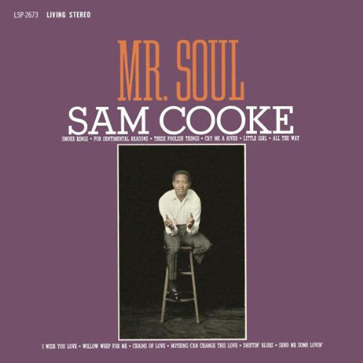 SAM COOKE MR SOUL LP VINYL 33RPM NEW
